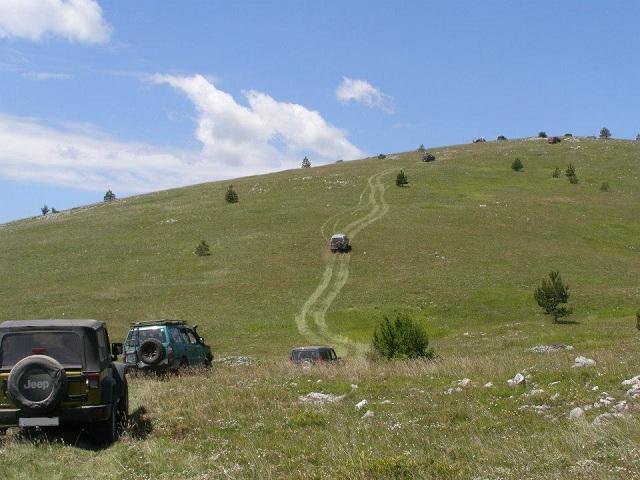 Bespućem lijepom Našom (Off-road) - Motiv fotografiranja: Ljepote nedostupne cestom Dalmacija-2014-a