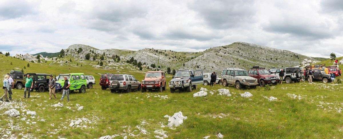 Bespućem lijepom Našom (Off-road) - Motiv fotografiranja: Ljepote nedostupne cestom Dalmacija-2015