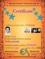 Naš skriti kotiček: Certificatcris