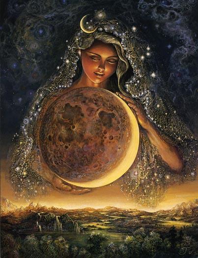 Pisanje poezije in proze na temo OBRAZI 2014 Moongoddess