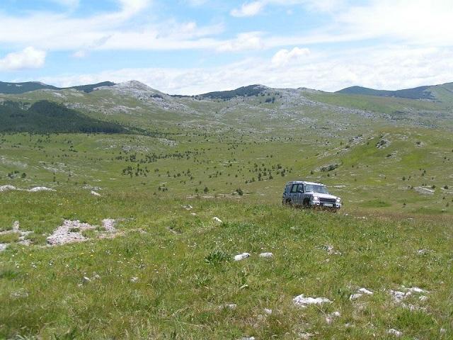 Bespućem lijepom Našom (Off-road) - Motiv fotografiranja: Ljepote nedostupne cestom Dalmacija-2014-b