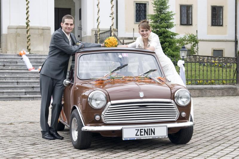 Austin Mini 1000 ˝Browny˝ Poroka-4