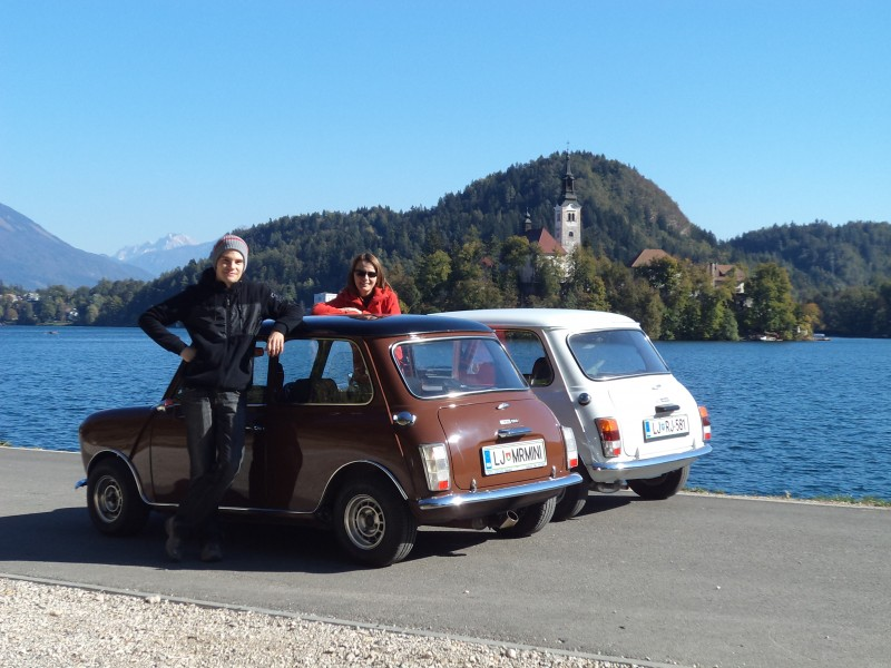 Austin Mini 1000 ˝Browny˝ Blagoslov--bled-2