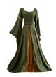 Zelena večerna obleka Oblekazelena