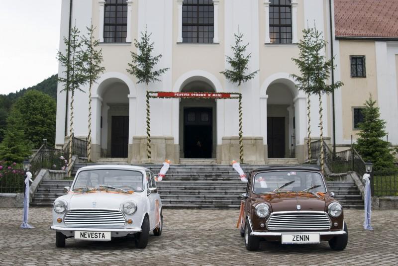 Austin Mini 1000 ˝Browny˝ Poroka-2