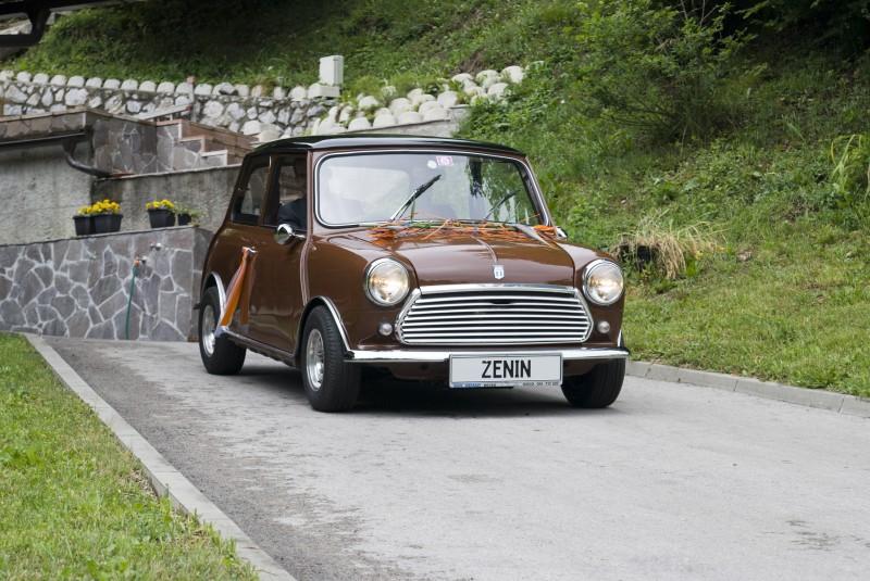Austin Mini 1000 ˝Browny˝ Poroka-1