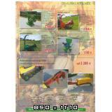 Traktorske kose  za male traktore Drm-diskarca