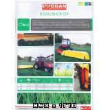Traktorske kose  za male traktore Inpodan-kose