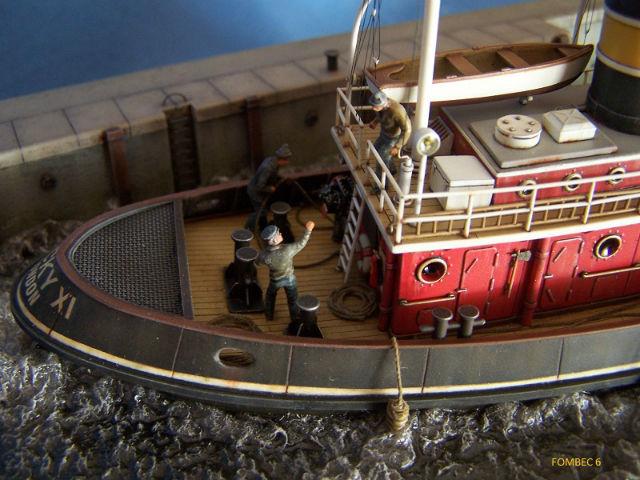 Dio : Remorqueur Lucky XI quittant le quai de Londres (1/100°) de noratlas 096b2y