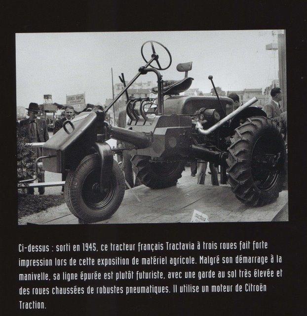 TRACTAVIA...un tracteur agricole à moteur CITROËN 12j76z