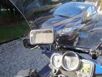 support GPS pour Garmin Zumo 05l0c9