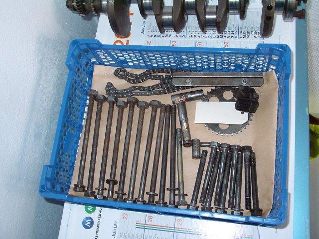 Construction d'un moteur viril sur base 1360 80HP 23g92b