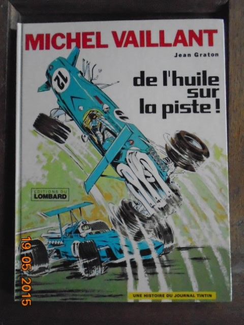 BD tintin et Michel vaillant 19p0am