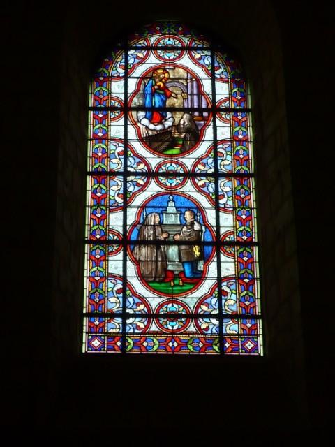 Vitraux de l'église de Lusignan 269lwv
