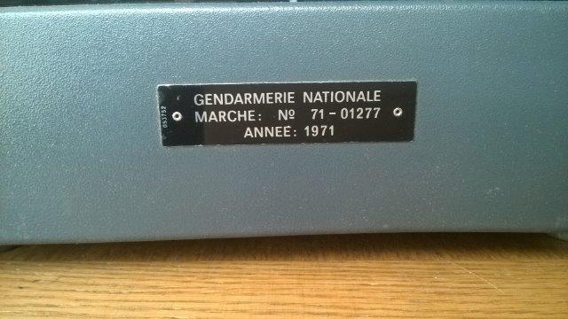 Machines à écrire GN. 25bzle