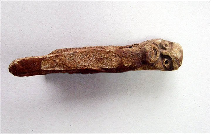 Pagan god 'caught' in river by fisherman confirmed as being up to 4,200 years old and 'unique' Information_items_1501