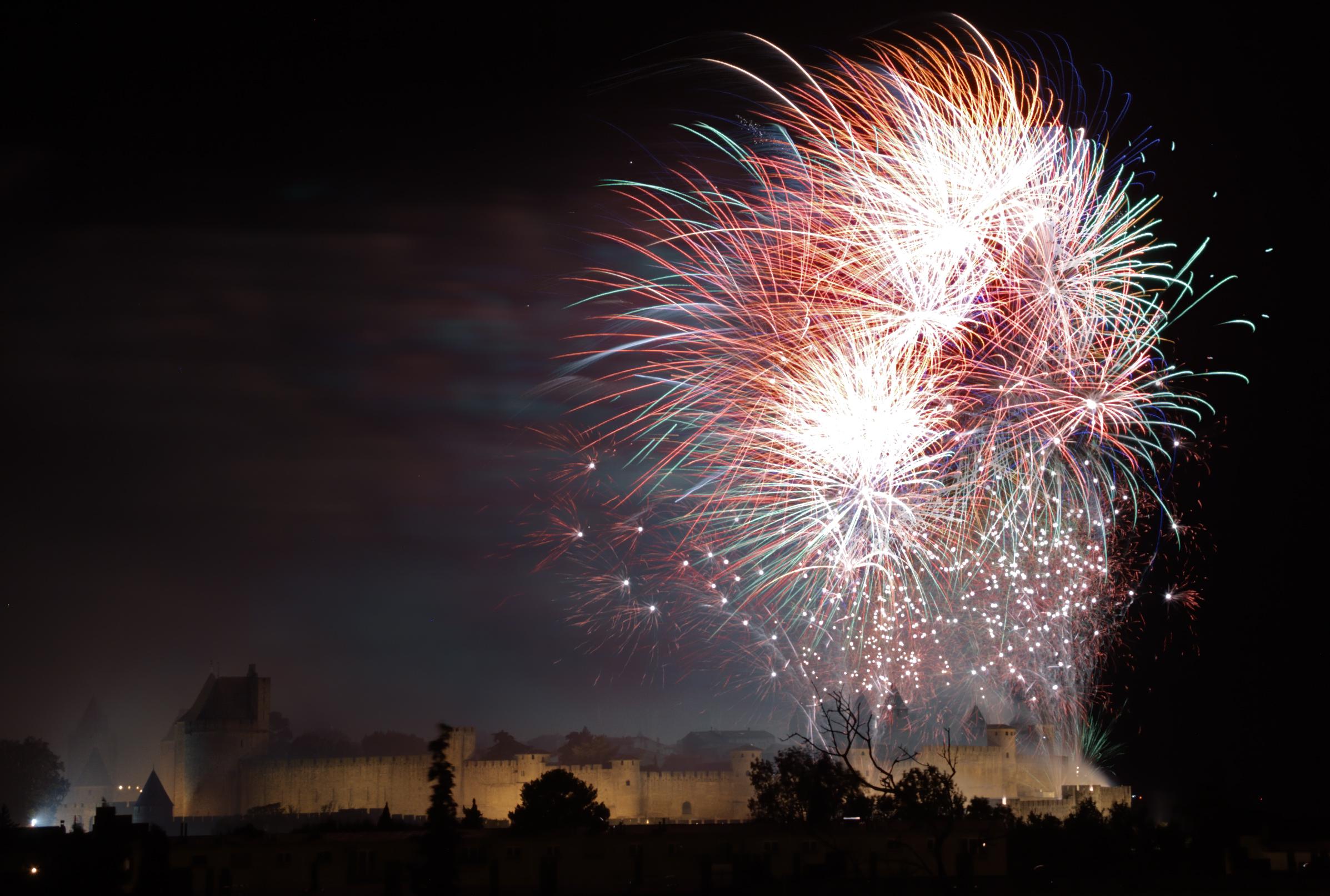 Le 14 juillet Artifice-Carcasonne