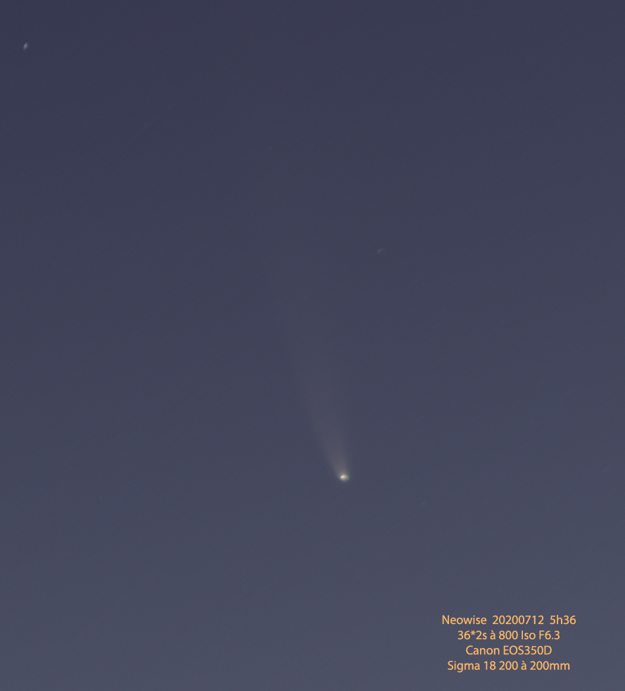 C2020F3-Neowise Neowise20200712leg