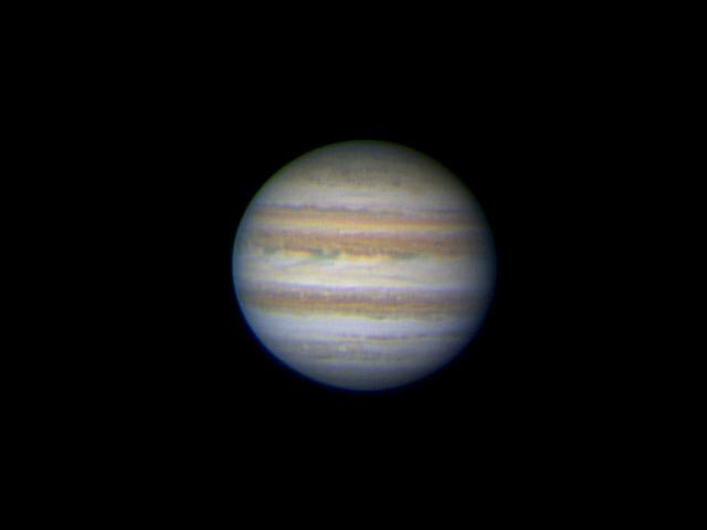 Jupiter le 20 au matin Jupasbio