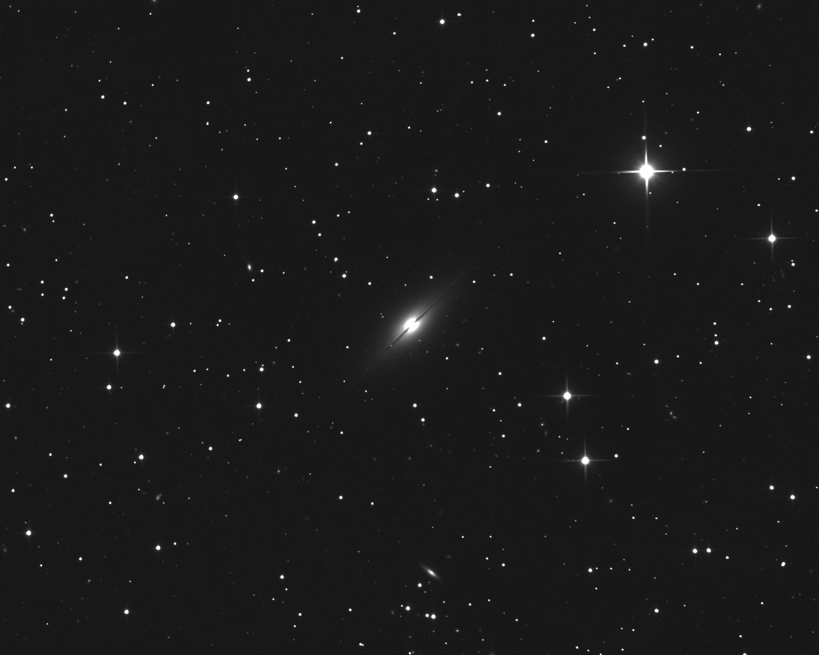 Supernova 2021rhu dans la galaxie NGC7814 NGC7814