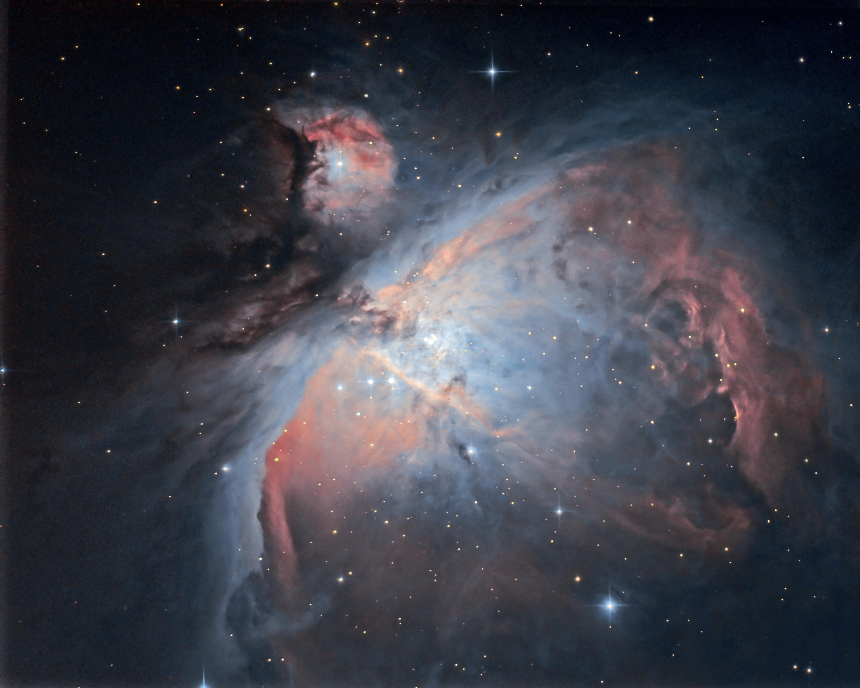 Fond de tiroir, images de crépuscule : M42  M42_v2b