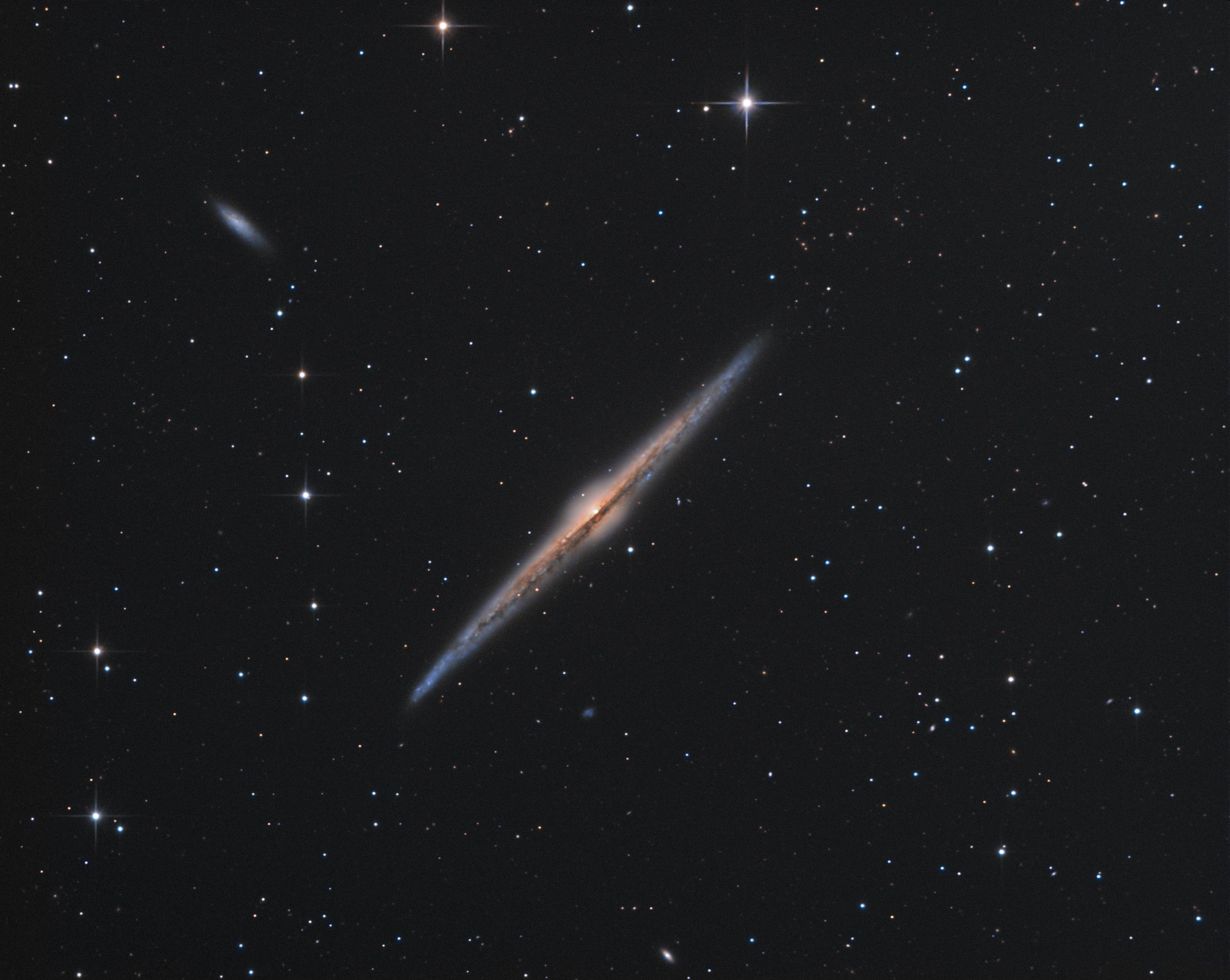Die Nadel, NGC4565 - reprise de la baleine N4565_integ_iv2
