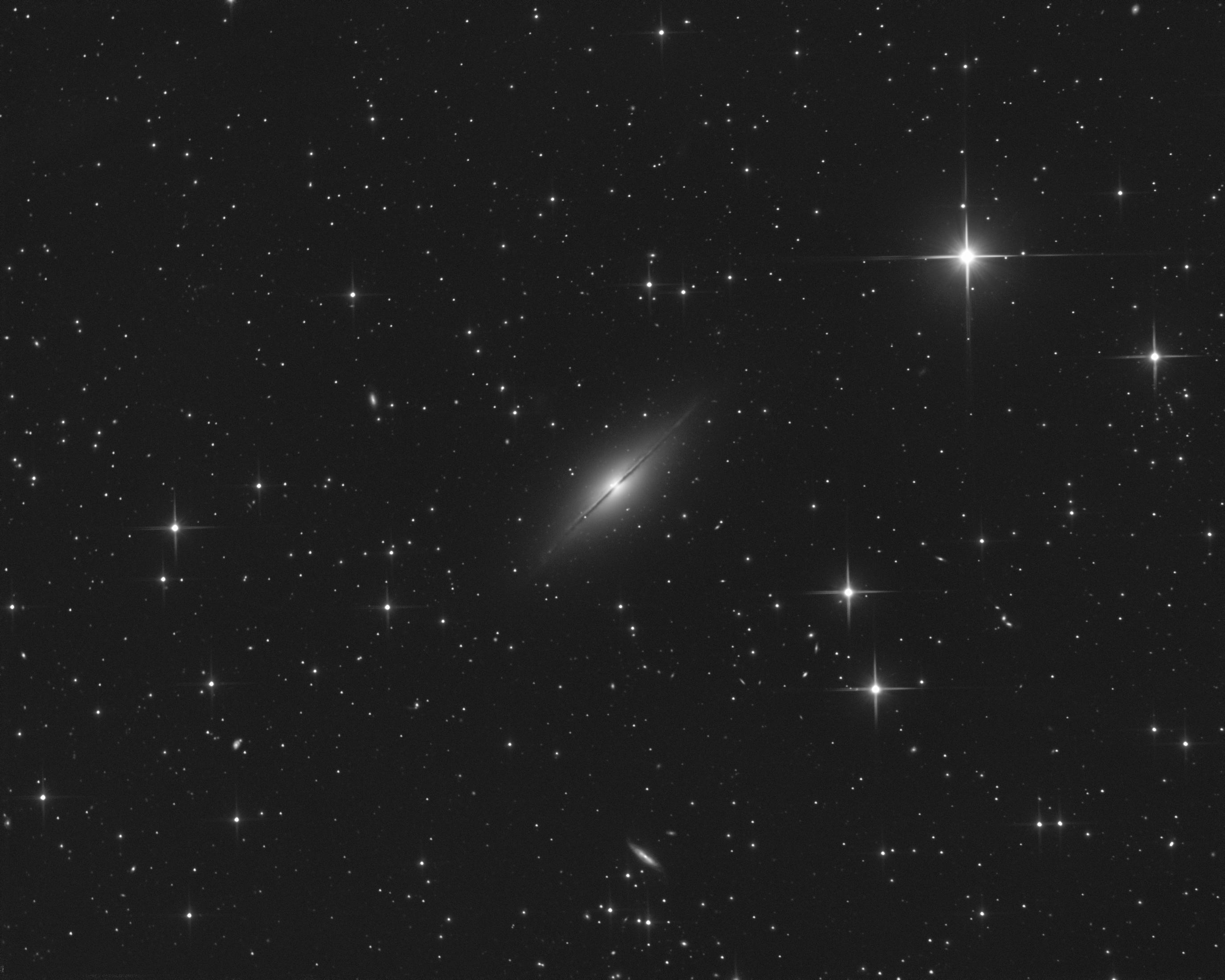 Supernova 2021rhu dans la galaxie NGC7814 Ngc7814v2