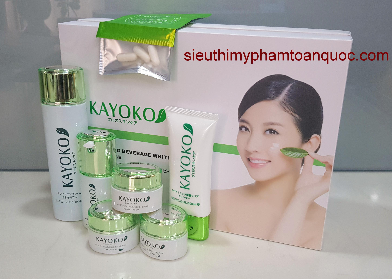 đại lý mỹ phẩm kayoko 6in1, mỹ phẩm trị nám, tàn nhang, kết hợp làm trắng da, mỹ phẩm giá sỉ Kayoko%20trang%206in1