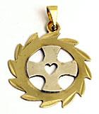 Cruz Orlada Medallita