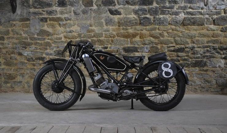 1934 Scott Flying Squirrel Racing Motorcycle Scott-Flying-Squirrel-Motorcycle