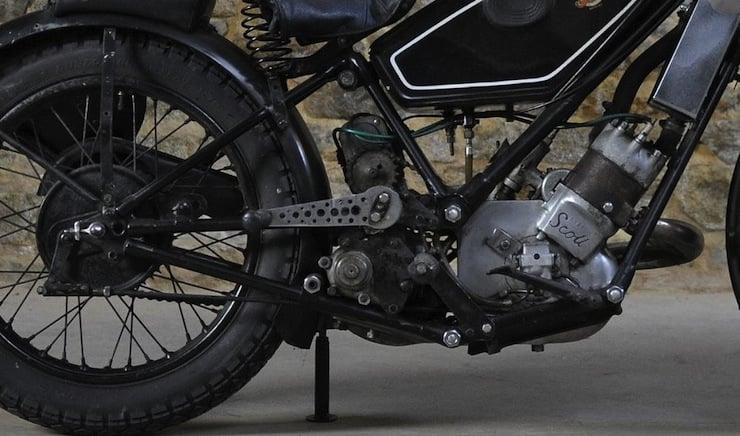 1934 Scott Flying Squirrel Racing Motorcycle Scott-Flying-Squirrel-Motorcycles