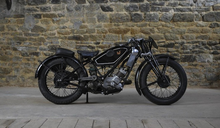 1934 Scott Flying Squirrel Racing Motorcycle Scott-Flying-Squirrel