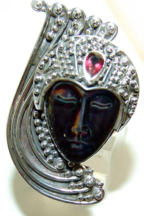 Kristali - drago i poludrago kamenje - Page 3 RainbowFaceGarnet