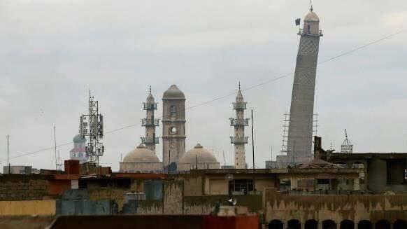 مسجد النوري الكبير، صرح معماري هدمته داعش 752351806