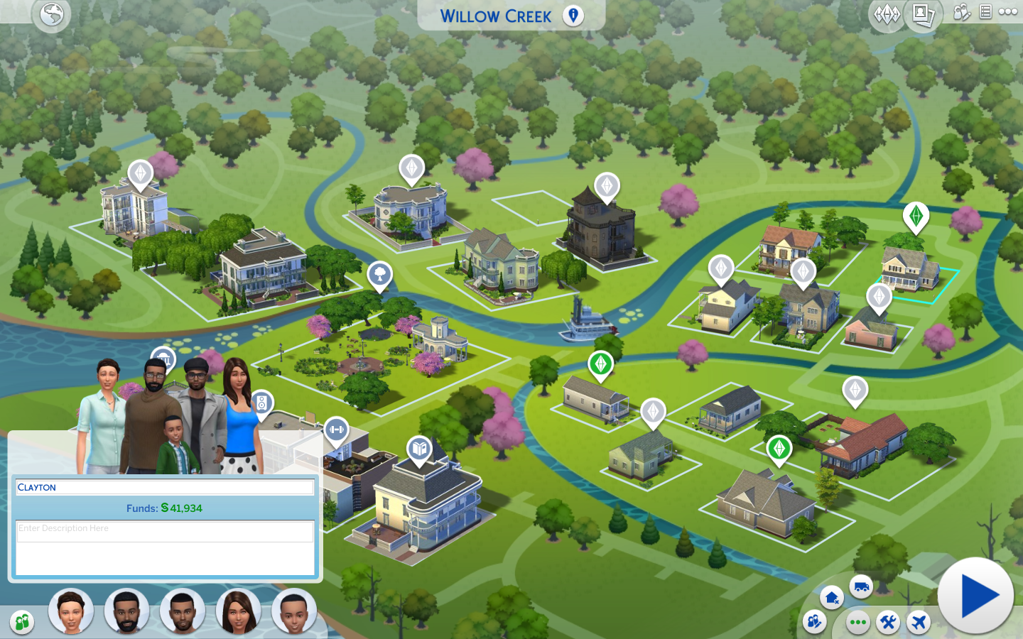 The Sims 4 Sort Of Brief In-Game Guide. Sims-4-World-Map-Update
