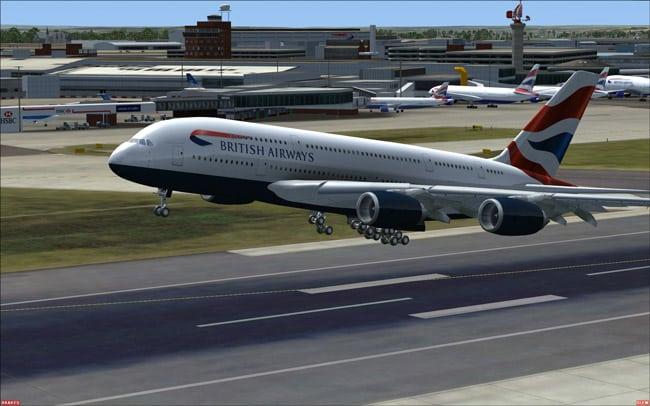 פרסום|FSX-Flight Simulator X Wilco-airbus_380_v2