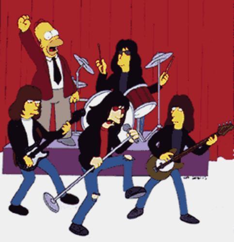 Saragosa - Llevant Ramones_simpsons_1