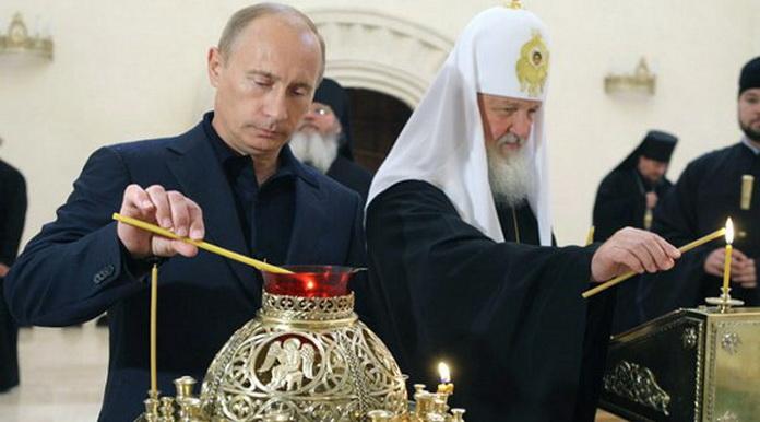 Русский народ станет орудием антихриста (Игнатий Брянчанинов) Putinpatriarx