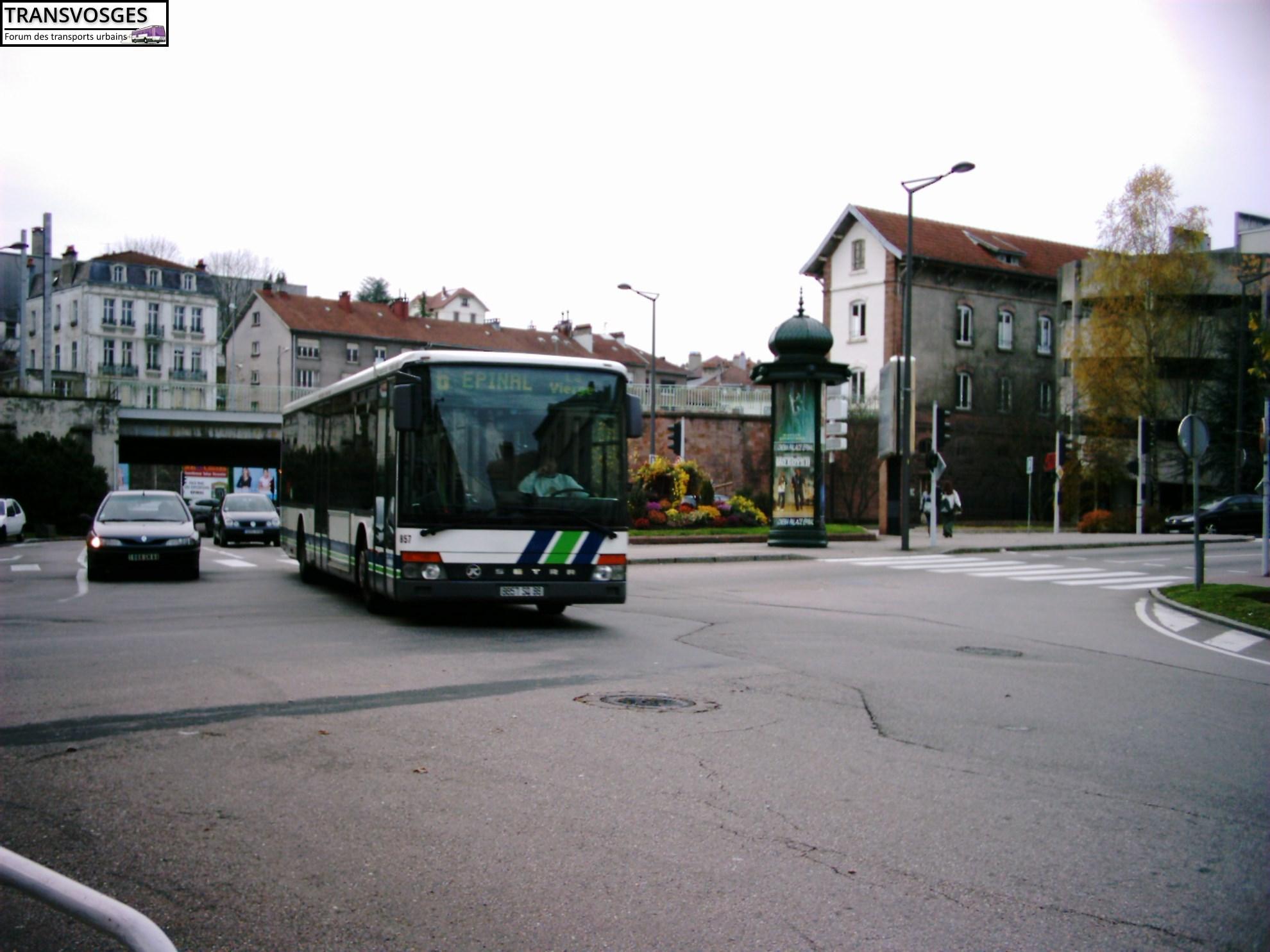 Setra S 315 NF n° 857 4
