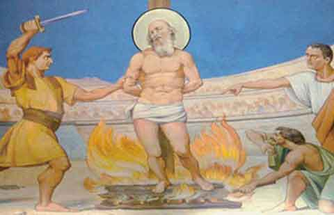 23 février Saint Polycarpe de Smyrne Polycarpe-de-Smyrne