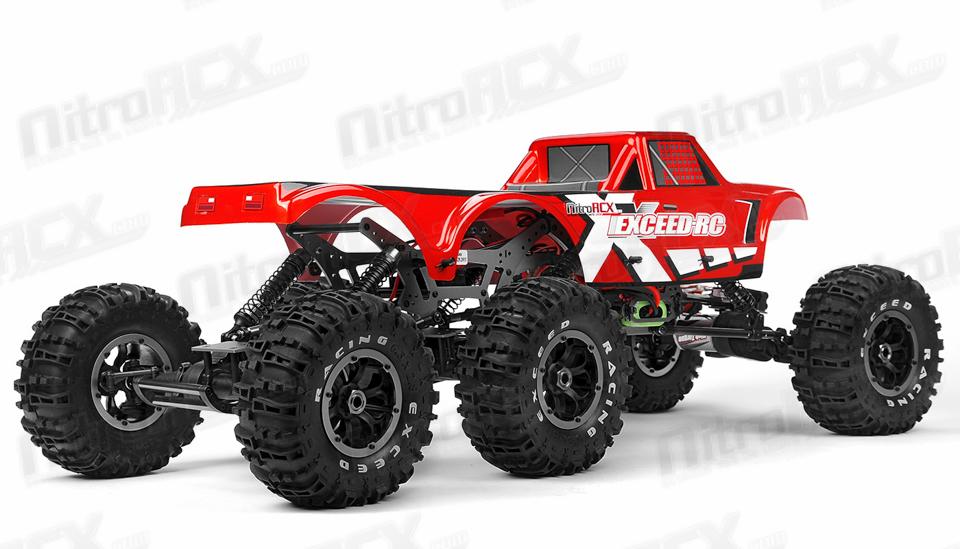 6x6, 3 moteurs, 2 ESC !! 03C20-MadTorque-6X6-Red-RTR-24G-5