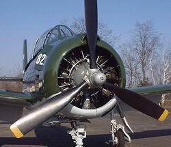 "North American T-28 "" Fennec "" Moteur"
