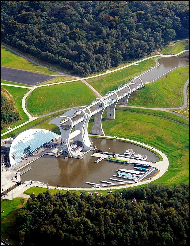 Kanal Dunav-Morava-Vardar ? Falkirk-Wheel