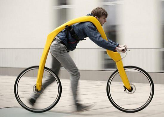 Беспедальный велосипед - ещё одна дур-машина 517022