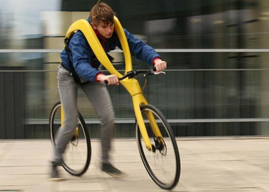 Беспедальный велосипед - ещё одна дур-машина 517023
