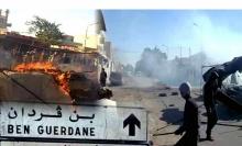 Lundi 7 mars, attaque surprise des combattants de l'Etat islamique contre la petite ville tunisienne de Ben Guerdane, toute proche de la frontière libyenne 806534755