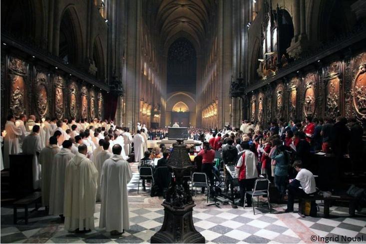 1431 : Henri VI d'Angleterre sacré roi de France à Notre Dame de Paris 2410171073