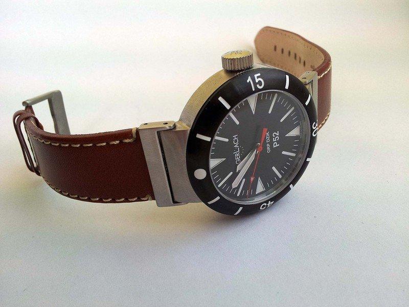G. Gerlach: la montre polonaise! M_dzik_pasek_brazowy