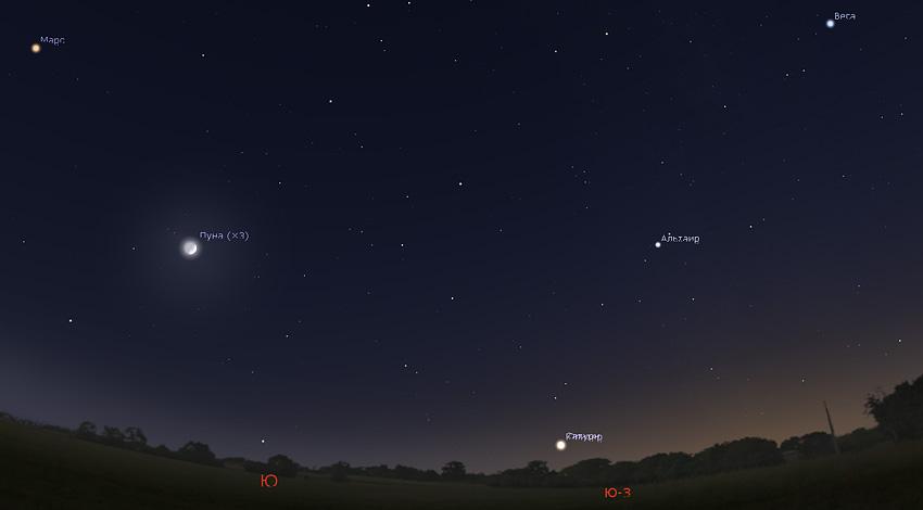 Соединение Юпитера и Сатурна 21 декабря 2020 года 02