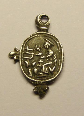 Micro medalla de Montserrat. (R.M. SXVII-O433) NA84C